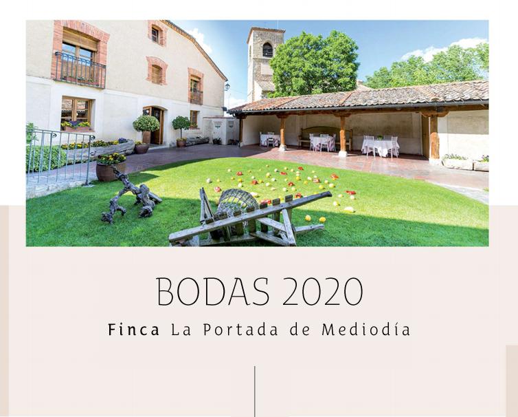 Menús para Bodas en Segovia - La Portada de Mediodía