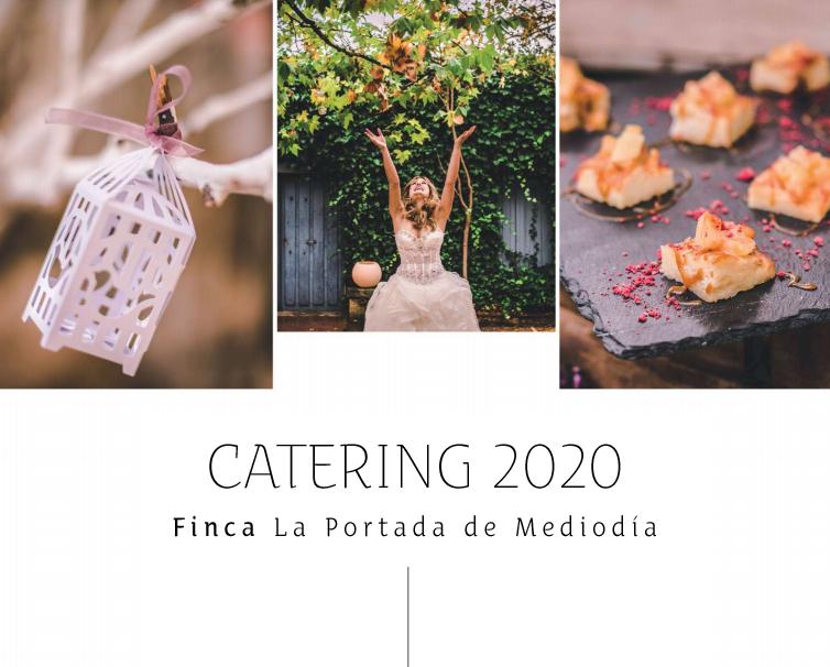 Menús Catering Bodas en Segovia - La Portada de Mediodía