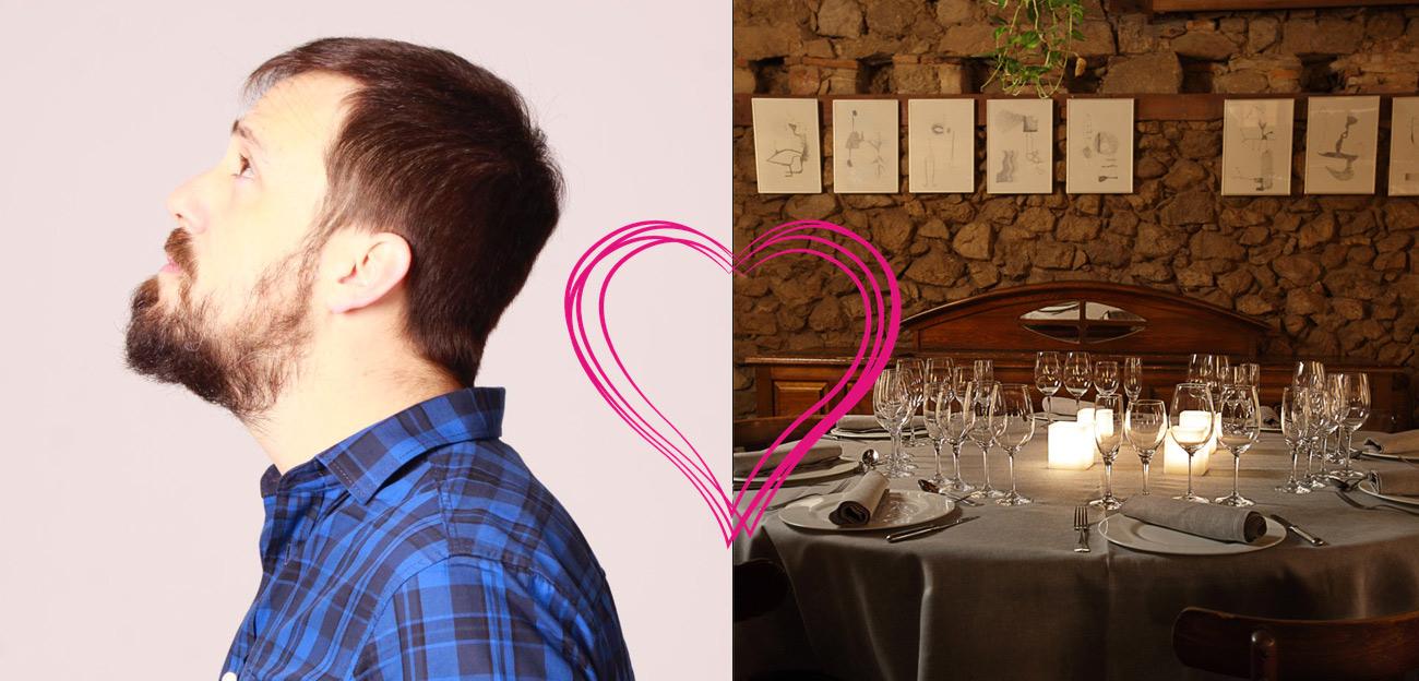 Cena de San Valentín en La Portada de Mediodía