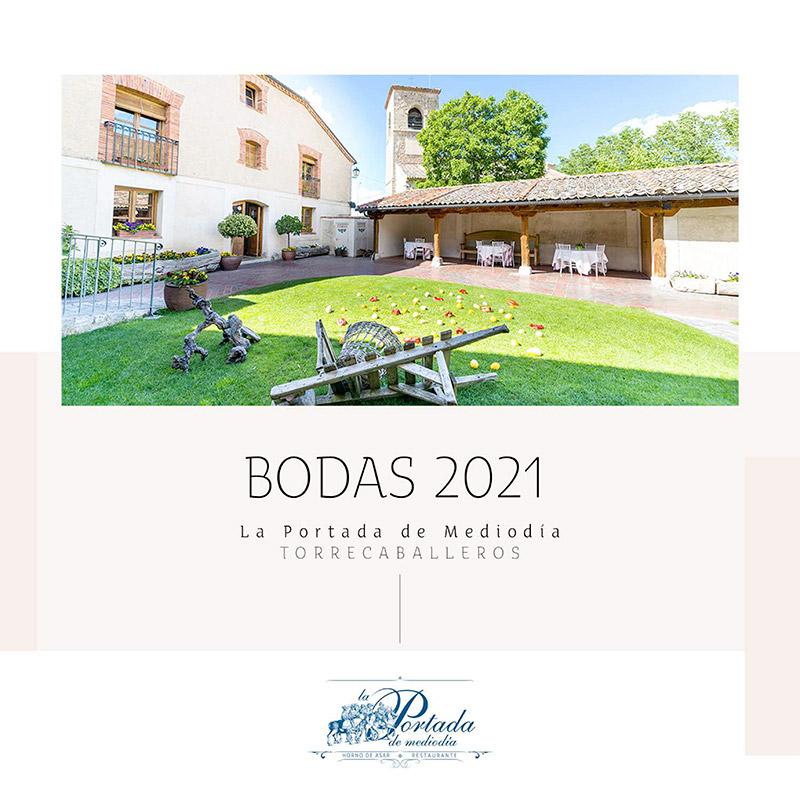 Bodas 2021 - La Portada de Mediodía